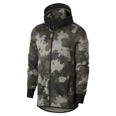 9a7ebb78c2e Nike Men s Olive NSW Air Max Full-Zip AOP Jacket