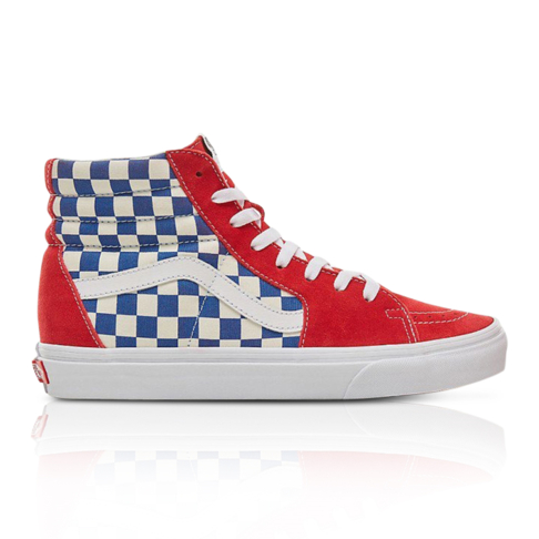 Vans Men s SK8-HI Blue Red Sneaker 149fa3a93