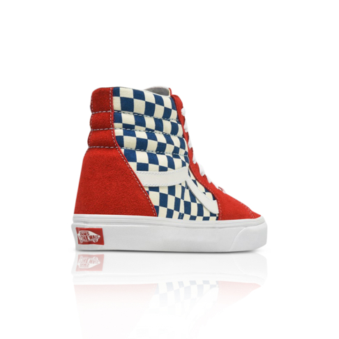 203193226372 Vans Men s SK8-HI Blue Red Sneaker