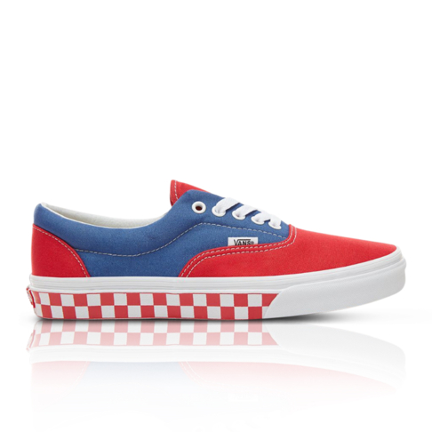 4ca85c35ac6 Vans Men s BMX Checkerboard Era Blue Red Sneaker