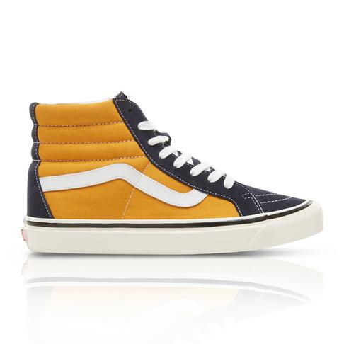 7e3ce3f615 Vans Men s Anaheim Factory SK8-HI Yellow Black Sneaker