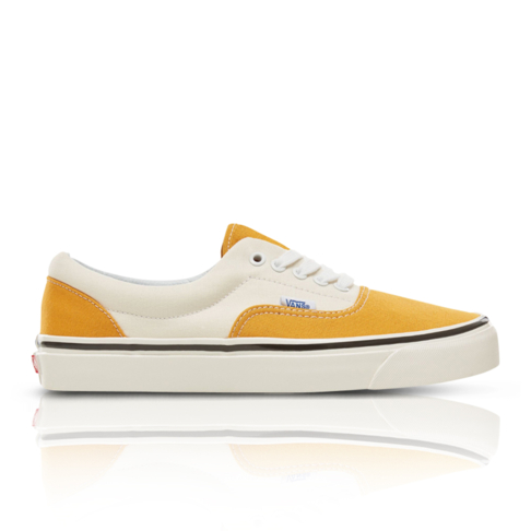 Vans Men s Anaheim Factory Era 95 Yellow White Sneaker 8f6056164c