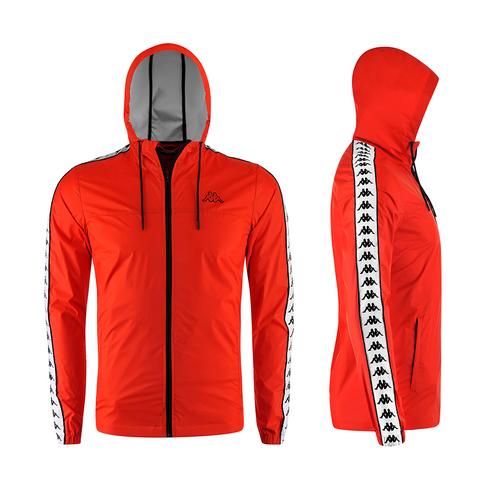a60e0ea0014 Kappa Men's Banda Dawson Red Jacket