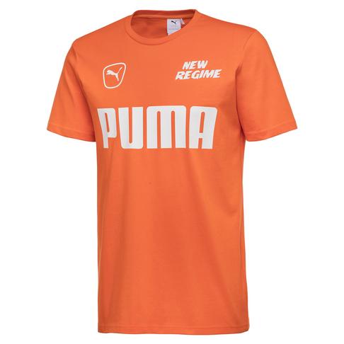 4a4aa2b4dc7 PUMA Men's Scarlet IBIS X Atelier New Regime T-Shirt