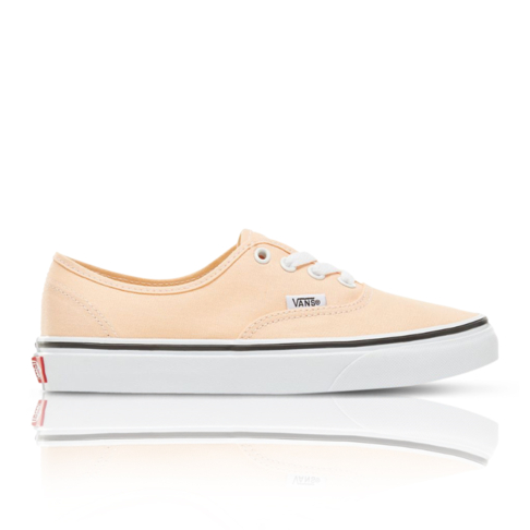 Vans Women s Color Theory Authentic Peach Sneaker 32876d38e4