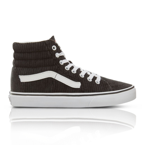 a3c2a14847 Vans Women s Design Assembly Sk8-Hi Black White Sneaker