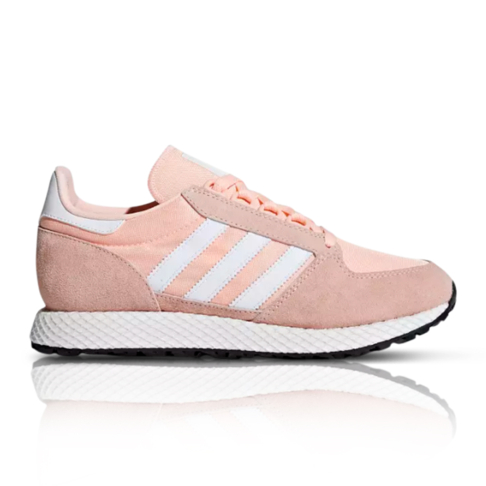 sneakers for cheap 7dfd4 9b714 adidas Originals Womens Forest Grove Pink Sneaker