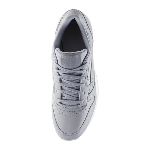 4aed15e646dfd Reebok Women s Classic Leather Double Grey Sneaker