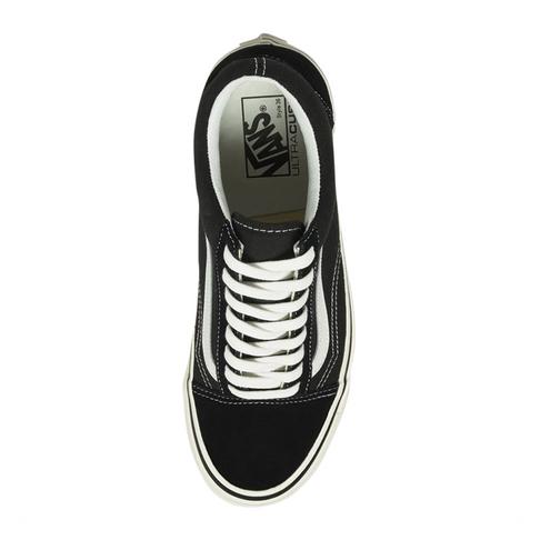 ac7448eed0f3 Vans Junior Anaheim Factory Old Skool 36 DX Black White Sneaker