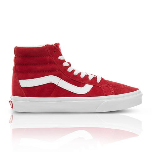 d00a229402 Vans Junior Suede SK8-HI Reissue Red Sneaker