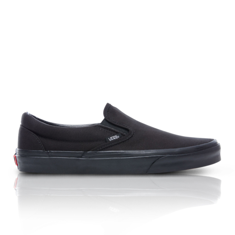 e491016bde Vans Junior Classic Slip-On Mono Black Sneaker