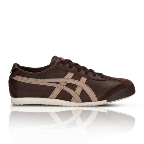 low priced 26668 884ad Onitsuka Tiger Men's Mexico 66 Brown Sneaker
