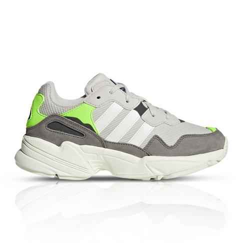 pretty nice 95567 4fffb adidas Originals Junior Yung-96 Grey Green Sneaker