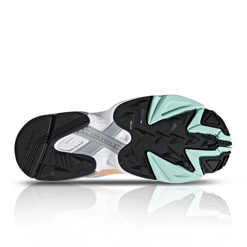 premium selection 5b9c9 5a83e adidas Originals Womens Falcon GreyOrange Sneaker