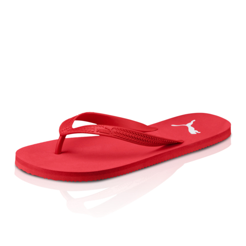 cf211cd2d4e60d Puma Men s First Flip DP Red White Sandal
