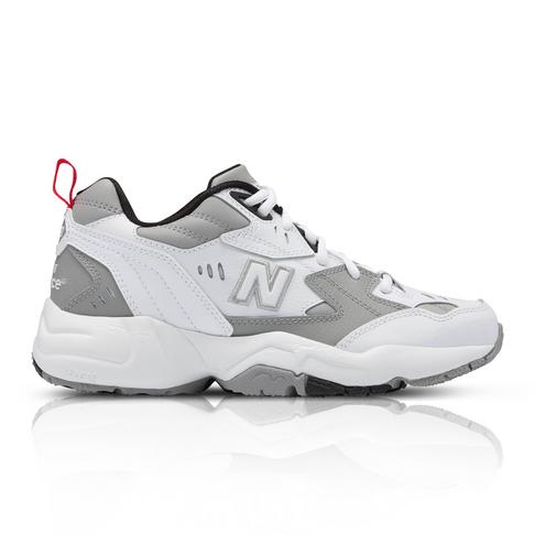 5bcc4d294605 New Balance Women's 608 White/Yellow Sneakers