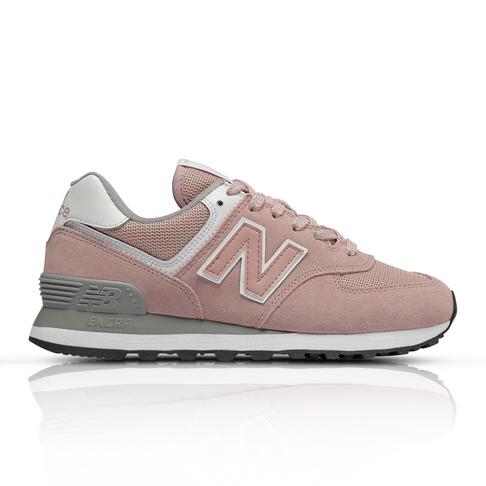 designer fashion 933c0 3444c New Balance Women s 574 Classic Pink Sneaker