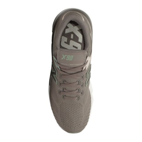 New Balance Women s X-90 Engineered Knit Grey Sneaker d0420f49afe