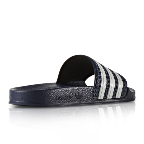 info for 4993f 75e9e adidas Originals Junior NavyWhite Adilette Slide