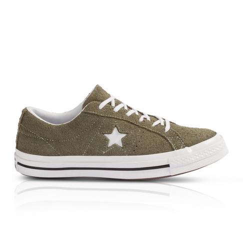 284528346928f Converse Junior One Star Suede Fatigue Sneaker