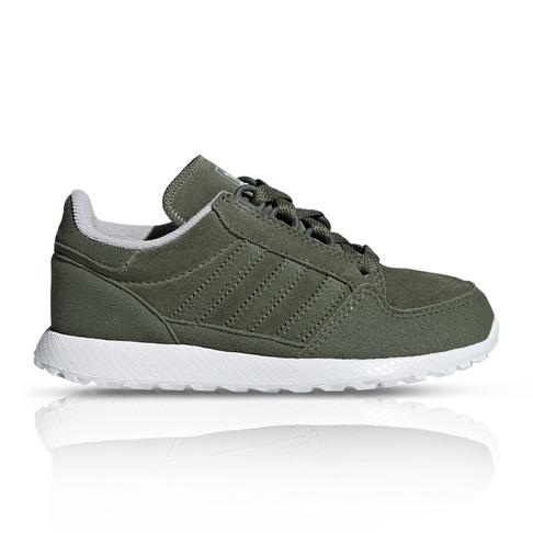 best sneakers 6068a 15375 adidas Originals Kids Forest Grove Fatigue Sneaker
