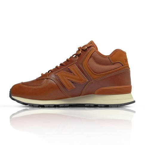 brand new 1783f 20cf6 New Balance Men's 574 Mid Tan Sneaker