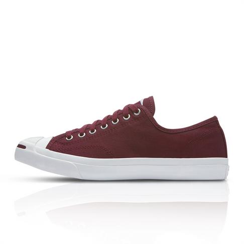 4280abe82770 Converse Men s Jack Purcell Burgundy Sneaker