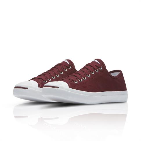b590fd9a5e27 Converse Men s Jack Purcell Burgundy Sneaker