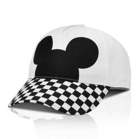 56a559290a6 Disney x Vans Mickey Mouse 90th Anniversary White Black Cherckerboard  Courtside Cap