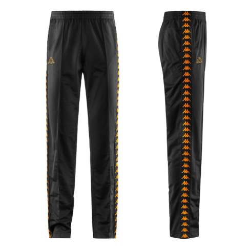 d16df884 Kappa Banda 222 Astoria Men's Slim Fit Black Track Pants