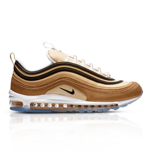 more photos ebc8b b3808 Nike Men's Air Max 97 'Barcode' Brown Sneaker