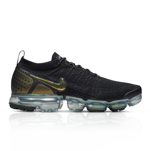 huge discount 0ca2d ea19f Nike Men's Air Vapormax Flyknit 2 Black Sneaker