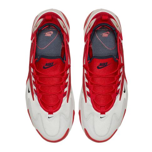 buy popular 3bf75 f0f0e Nike Men s Zoom 2K White Red Sneaker