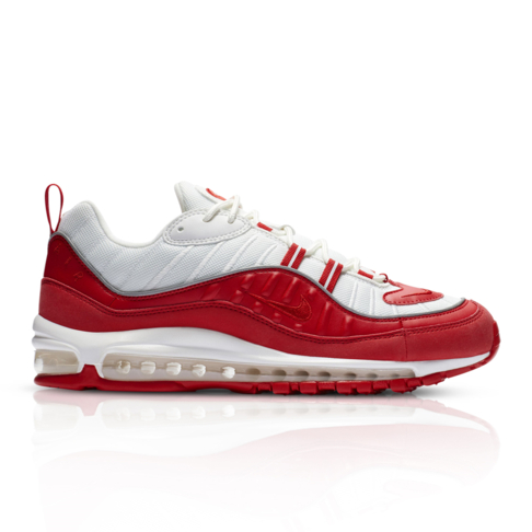 84bc03f89a2187 Nike Men s Air Max 98 Red Sneaker