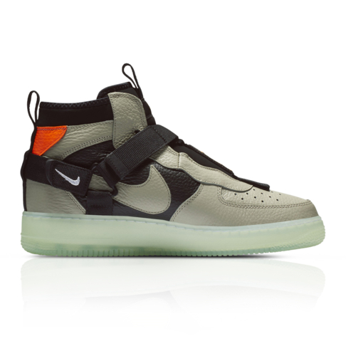 good quality newest website for discount Nike Men's Air Force 1 Utility Mid Sage Sneaker