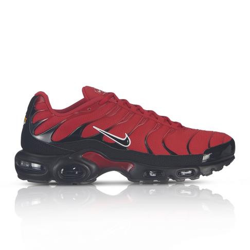 hot sales 7faa1 f9578 Nike Men s Air Max Plus Red Sneaker