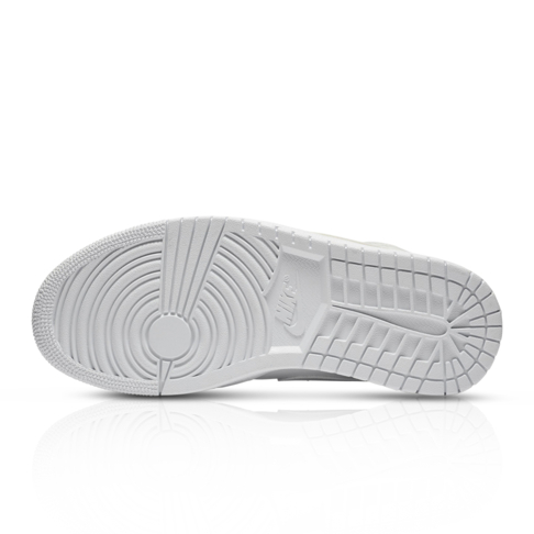 pretty nice ffdea e3698 Jordan Women's Air Jordan 1 Mid White Sneaker