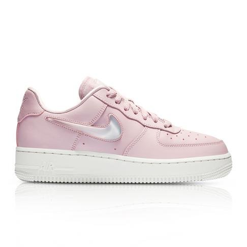 e4057b948d4e8f Nike Women s Air Force 1  07 SE Premium Pink Sneaker