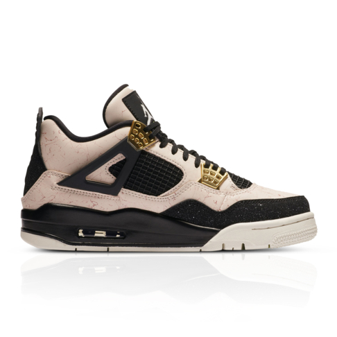 separation shoes 618ac 97bdb Air Jordan Women's Retro 4 Pink Sneaker