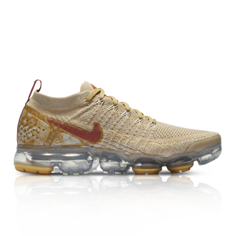 cheap for discount 16a8a 8c6ee Nike Women's Air Vapormax Flyknit 2 CNY Cream Sneaker