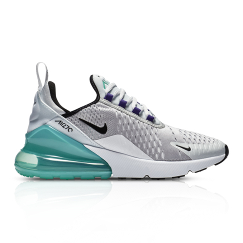 on sale dcfb8 0b7db Nike Junior Air Max 270 Grey/Blue Sneaker