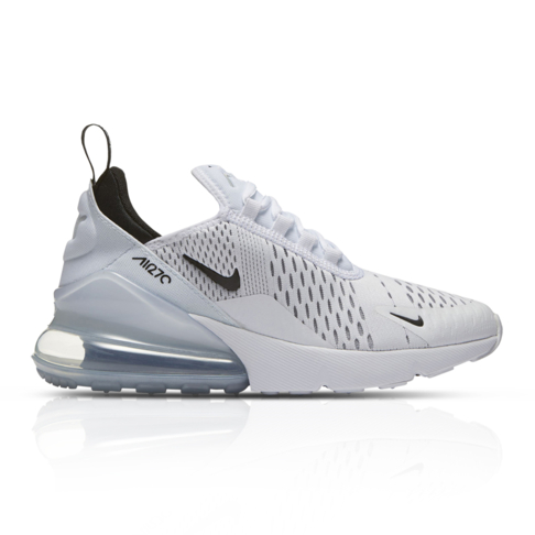 the latest 7321b 0b06d Nike Junior Air Max 270 White Sneaker