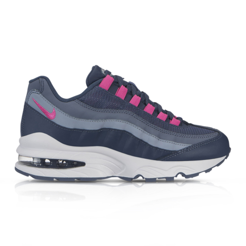 save off 806b9 615b1 Nike Junior Air Max 95 Blue/Purple Sneaker