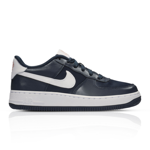new arrival d9ad7 adc64 Nike Junior Air Force 1 Valentines Day Pack Navy Sneaker
