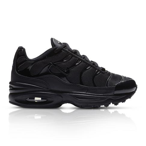 f62c7ff204 Nike Kids Air Max Plus Black Sneaker