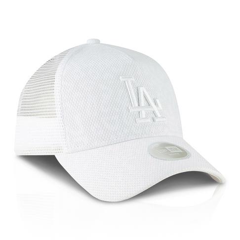59f8b6220a3 New Era Los Angeles Dodgers A-Frame Trucker White Cap