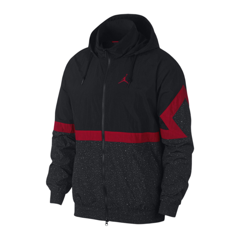 c70a76d4984 Jordan Men's Diamond Cement Black Jacket