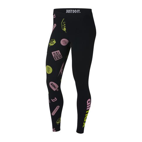 e9cbb52a7b Nike Sportswear Leg-A-See Women's Black Leggings