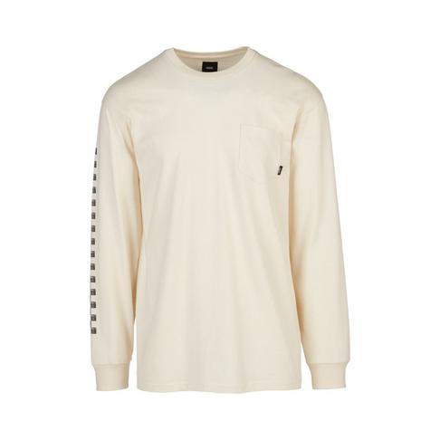 444e6204d345 Vans Men s Raw Cotton Square Root Long Sleeve T-Shirt