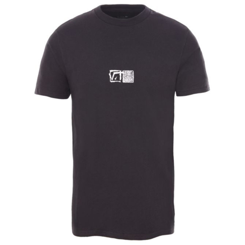 6ace3a4c1c83d2 Vans Men s Vintage Square Root Short Sleeve Black T-Shirt